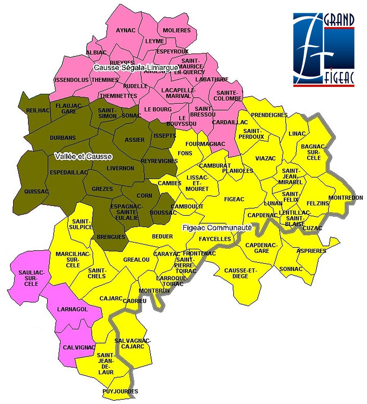 Carte du Grand-Figeac